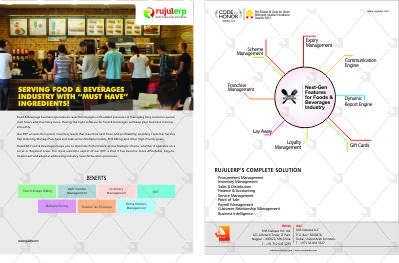 Food & Baverages Flyer