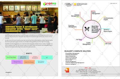 Food & Baverages Flyer