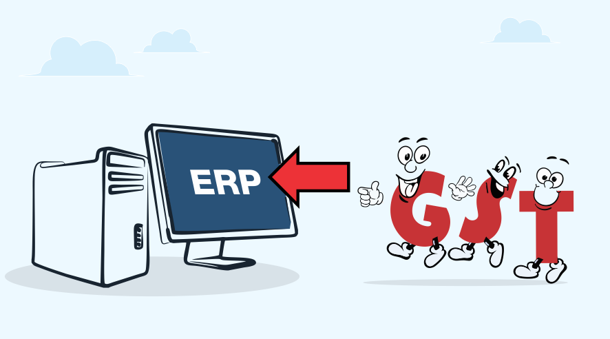GST via ERP is a smooth business ride