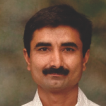 Portrait of Sanjay W.Konane, Director of Bhargavi Sales, Nashik, uses Rujul-ERP software for their business, accounting, etc.
