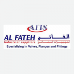Logo of Al Fateh company , Bahrain. Taher A.R., Owner  uses ERP software to meet business requirement.